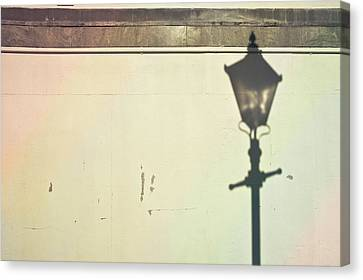 Lamp Post Shadow Canvas Print by Tom Gowanlock
