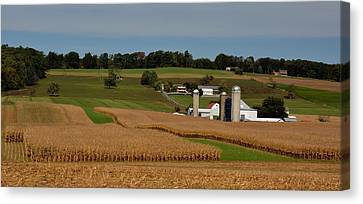 Lancaster County Farm Canvas Print by William Jobes