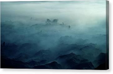 Land Of Fog Canvas Print by Rudi Gunawan