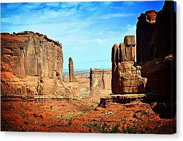 Land Of The Giants Canvas Print by Marty Koch