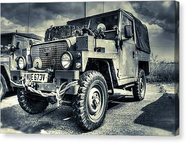 Land Rover - Defender Canvas Print by Ian Hufton