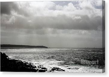 Lands End Canvas Print by Linsey Williams