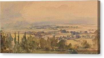 Landscape, 1909 Canvas Print by Philip Wilson Steer