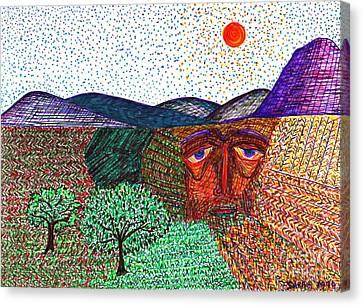 Landscape Canvas Print by Sarah Loft