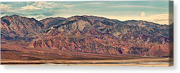 Landscape With Mountain Range Canvas Print by Panoramic Images