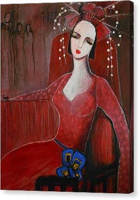 Languishing - Langoureuse Canvas Print by Mirko Gallery