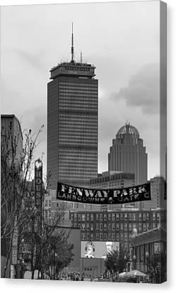 Lansdowne Street 2 - Fenway Park - Boston Canvas Print by Joann Vitali