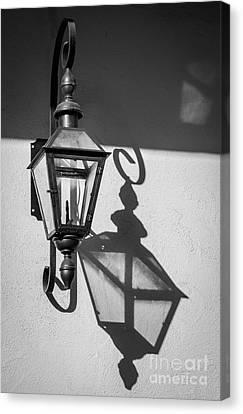 Lantern Reflection Canvas Print by Inge Johnsson