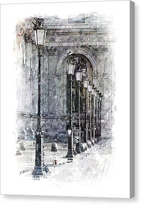 Lanterns Canvas Print by Gary Bodnar