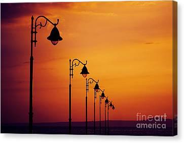 Lanterns Canvas Print by Jelena Jovanovic
