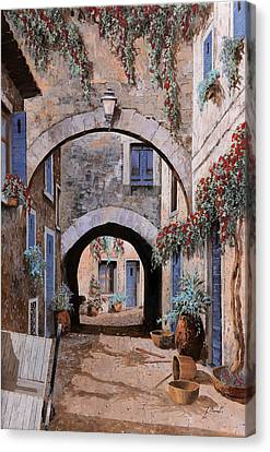 L'arco Del Diavolo Canvas Print by Guido Borelli