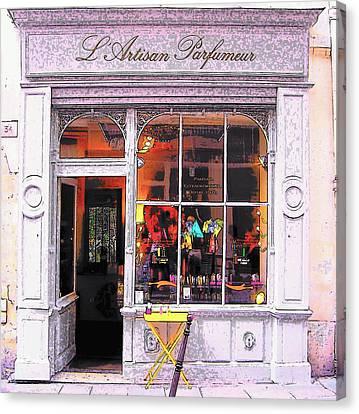 L'artisan Parfumeur Paris Canvas Print by Jan Matson