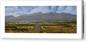 Las Cruces New Mexico Panorama Canvas Print by Jack Pumphrey