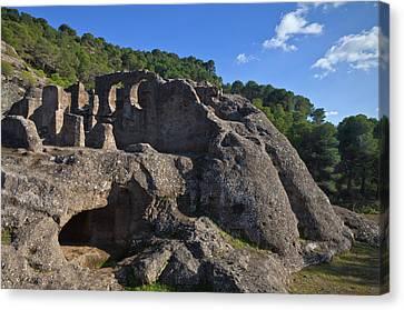 Las Cuidadas Iglesias De Bobastro Canvas Print by Panoramic Images