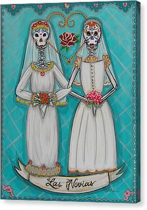 Las Novias Canvas Print by Sabina Espinet