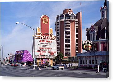 Las Vegas 1994 Canvas Print by Frank Romeo