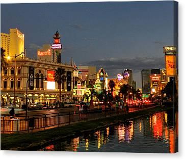 Las Vegas 36 Canvas Print by Lance Vaughn