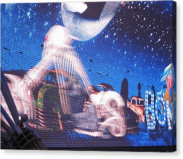 Las Vegas - Fremont Street Experience - 121217 Canvas Print by DC Photographer