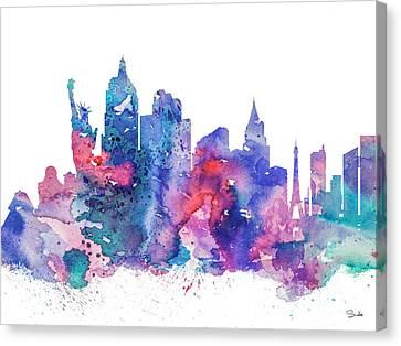 Las Vegas  Canvas Print by Luke and Slavi