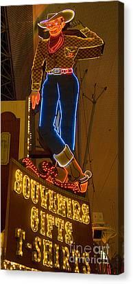 Las Vegas Neon 12 Canvas Print by Bob Christopher