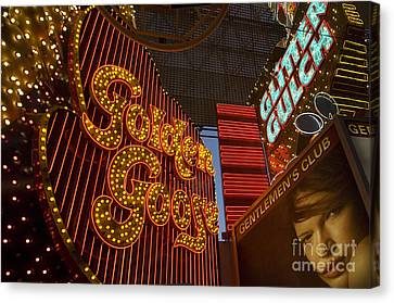 Las Vegas Neon 9 Canvas Print by Bob Christopher
