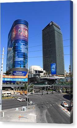 Las Vegas Strip 7 Canvas Print by Frank Romeo