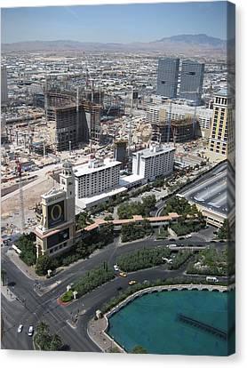 Las Vegas - The Srip - 12129 Canvas Print by DC Photographer