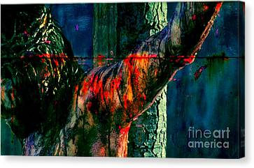 Last Breath Of Jesus Canvas Print by Mike Grubb