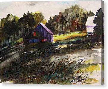 Last Sunlight Canvas Print by John  Williams