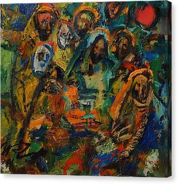 Last Supper Canvas Print by Ivan Filichev