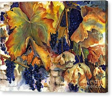 The Magic Of Autumn Canvas Print by Maria Hunt
