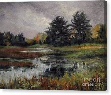 Late November Storm Canvas Print by Gregory Arnett