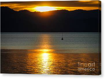 Late Summer Sunset Canvas Print by Mitch Shindelbower