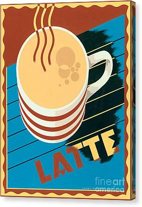 Latte Canvas Print by Brian James
