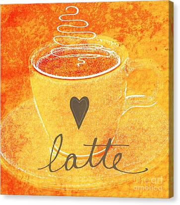 Latte Canvas Print by Linda Woods