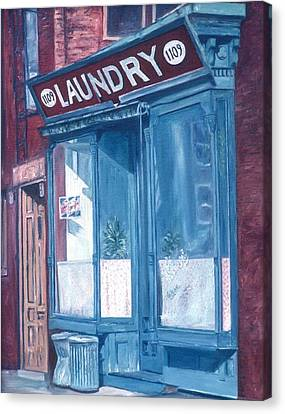 Laundry Canvas Print by Anthony Butera
