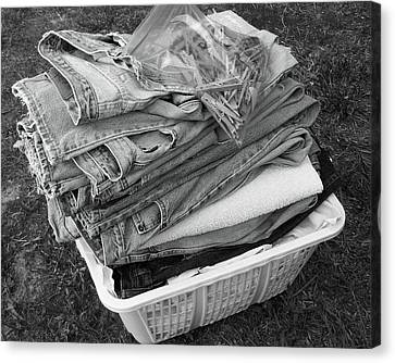 Laundry's Done Canvas Print by Gary R Photography