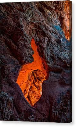 Lava Glow Canvas Print by Chad Dutson