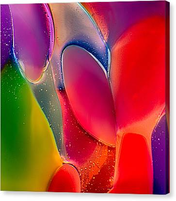 Lava Lamp Canvas Print by Omaste Witkowski