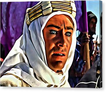 Lawrence Of Arabia Canvas Print by Florian Rodarte