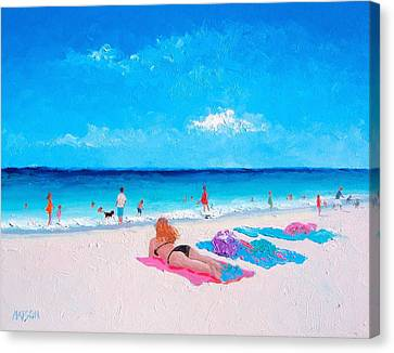 Lazy Day Canvas Print by Jan Matson
