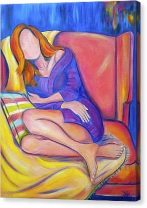 Lazy Sunday Canvas Print by Debi Starr