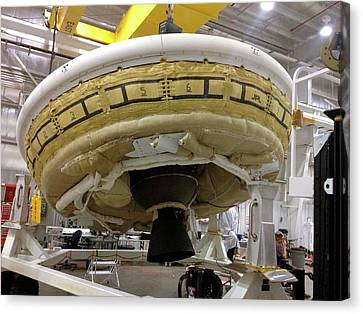 Ldsd Test Vehicle Assembly Canvas Print by Nasa
