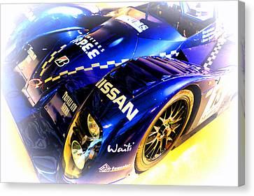 Le Mans 1999 Courage Nissan C52 Canvas Print by Olivier Le Queinec