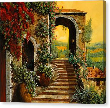 Le Scale   Canvas Print by Guido Borelli