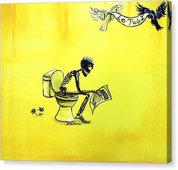Le Tub I Canvas Print by Heather Calderon