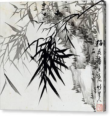 Leaf E Canvas Print by Rang Tian