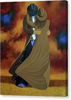 Lean On Me Canvas Print by Lance Headlee