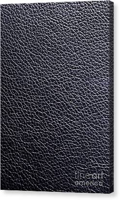 Leather Background Canvas Print by Carlos Caetano