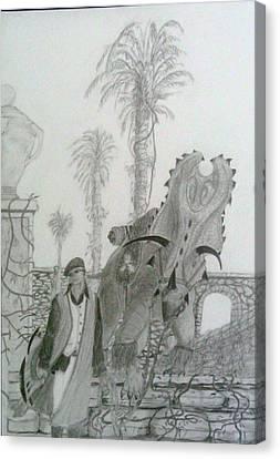 Leaving Gamorra Canvas Print by George Harrison
